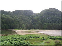 NM6672 : Causeway to Castle Tioram by Russel Wills
