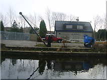 SD4760 : British Waterways Depot by Michael Graham