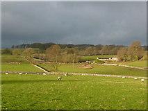 SK1862 : Kenslow Farm in winter sunlight by Peter Barr