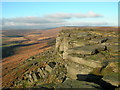 SK2483 : Stannage Edge by DAVID M GOODWIN