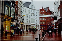 O1533 : Dublin - Grafton Street - near south end - view to north by Joseph Mischyshyn
