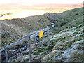NY7132 : Mine shaft, Swath Beck by David Brown