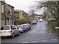 SE1228 : Shelf Moor Road - Witchfield Hill by Betty Longbottom