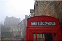 NZ2742 : Telephone box - Palace Green, Durham by Stephen McKay