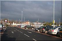 ST0207 : Cullompton: Tesco car park by Martin Bodman