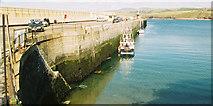 SC2484 : Breakwater at Peel Harbour by Donald MacDonald