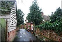 TR1859 : School Lane, Fordwich by N Chadwick