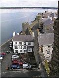 SH4762 : The Anglesey, Caernarfon by Nigel Dibb