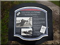 SK1461 : Limestone and Leisure; a plaque at Hartington Station by Peter Barr