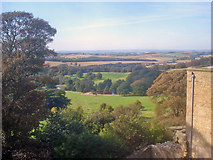 SK4663 : View from the top of Hardwick Old Hall by Trevor Rickard