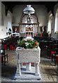 TL9650 : Kettlebaston church font by Bob Jones
