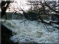 SE2708 : The waterfall below the footbridge of Cascade by John Fielding