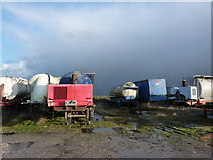SK2256 : In the Graveyard of  Abandoned Tankers by Peter Barr