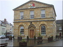 SP4416 : Woodstock Town Hall, Oxon by nick macneill