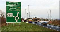 J0090 : New road, Randalstown - Castledawson (7) by Albert Bridge