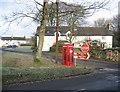 SD5273 : Borwick village green by Ian Taylor