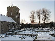 TQ2804 : St Andrew's Church by Simon Carey