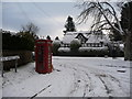 SO3574 : Picturesque Bucknell village, Shropshire by Jeremy Bolwell