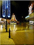 SZ0891 : Bournemouth: a windmill in The Square by Chris Downer