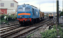 J4791 : Ballast train, Whitehead by Albert Bridge