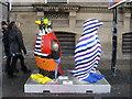 SJ3590 : Penguins in Lime Street by John S Turner