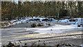 SJ8064 : Frozen Pond by Jonathan Kington