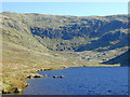 SN7987 : The east side of Llyn Llygad Rheidol by Nigel Brown