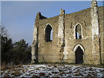 SU9948 : St Catherine's Chapel by Basher Eyre