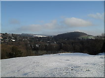 SU9948 : View across to the North Downs from St Catherine's Hill by Basher Eyre