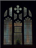 SZ0894 : Winton: a window of Victoria Park Methodist Church by Chris Downer