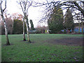 TQ3773 : Open space with shelter, Ladywell Fields by Stephen Craven