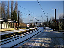 SE1537 : Shipley Station on Christmas Day by Stephen Armstrong