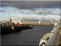 J3576 : Looking up the Victoria Channel Belfast by HENRY CLARK