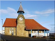 NZ3671 : Life Brigade Watch House, Cullercoats by Andrew Curtis