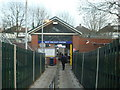 TQ2591 : West Finchley Underground Station by Stacey Harris