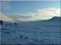 NN2256 : Snowy scene at Altnafeadh by Dave Fergusson