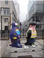 SJ3490 : Go Penguins on The Strand by John S Turner