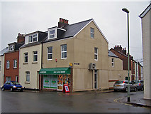 SX9392 : Corner shop, Gladstone Road by Richard Dorrell