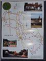 TQ0747 : Shere Parish Millennium Trail by Colin Smith