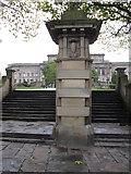 SJ3490 : Western steps into St John's Gardens by John S Turner