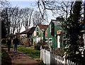 TQ1673 : Green Sheds 2 by Des Blenkinsopp