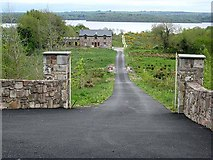 G8407 : Driveway and house at Smutternagh by Oliver Dixon