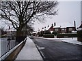 NZ2467 : Road junction in Gosforth by Philip Barker