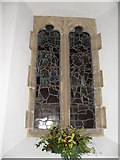 SU8518 : Stained glass window on the north wall at St Mary, Bepton (3) by Basher Eyre