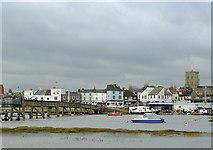 TQ2104 : River Adur at Shoreham, West Sussex by Roger  Kidd
