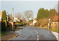 SP5461 : Looking north along Daventry Road, Staverton by Andy F
