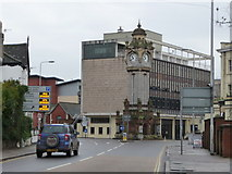 SX9193 : Exeter : New North Road & Clock Tower by Lewis Clarke