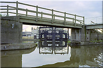 SJ6475 : Anderton boat lift - upper level by Robin Webster