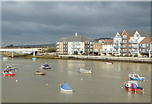TQ2105 : The Ropetackle Waterside Development, Shoreham, Sussex by Roger  Kidd