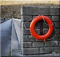 J3125 : Lifebuoy, Ben Crom Reservoir by Rossographer